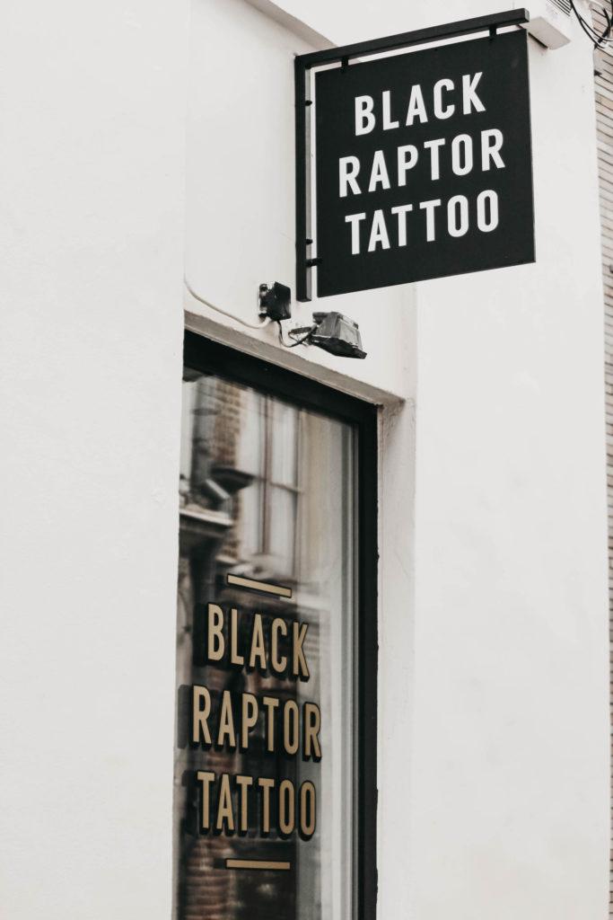 Black Raptor Tattoo Shop